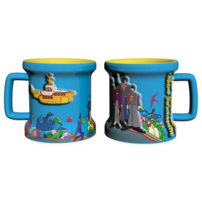 The Beatles Yellow Submarine Sculpted Mini Mugs (Set of 2)