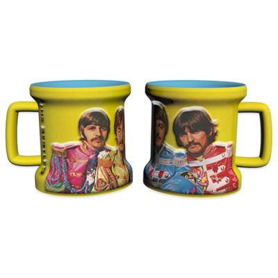 The Beatles Sgt. Pepper's Lonely Hearts Club Band' Sculpted Mini Mugs (Set of 2)