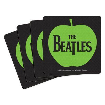 The Beatles Apple Coasters (Set of 4)