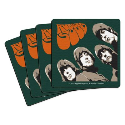 The Beatles Rubber Soul Coasters (Set of 4)