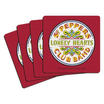 The Beatles Sgt. Pepper's Lonely Hearts Club Band' Coasters (Set of 4)