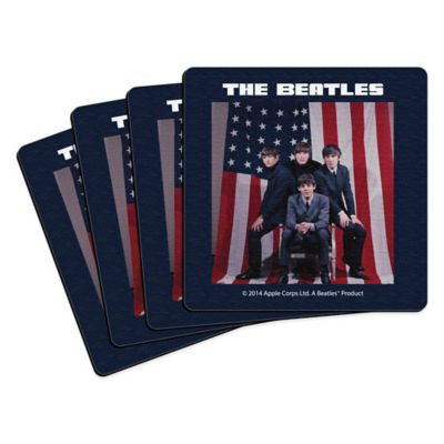 The Beatles U.S. Visit Coasters (Set of 4)
