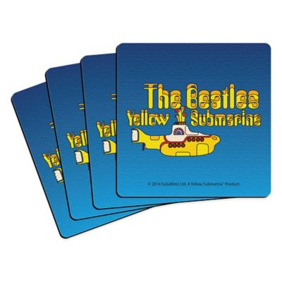 The Beatles Yellow Submarine Coasters (Set of 4)