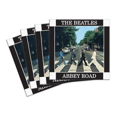 The Beatles Abbey Road Coasters (Set of 4)