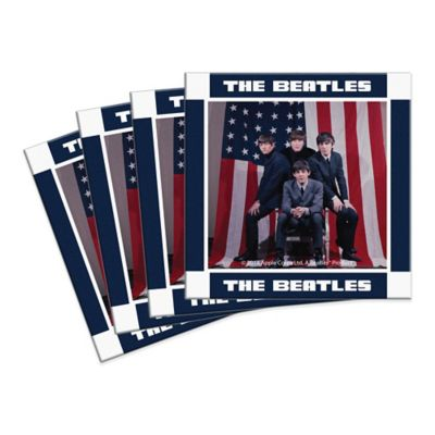 The Beatles U.S. Visit Ceramic Coasters (Set of 4)