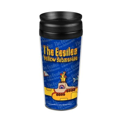 The Beatles Yellow Submarine Travel Tumbler