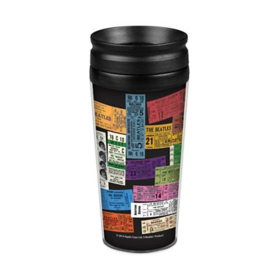 The Beatles Tickets Travel Tumbler