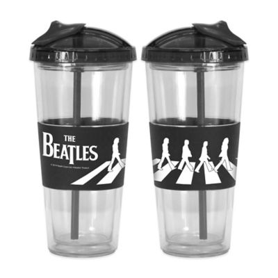 Beatles Straw Tumblers