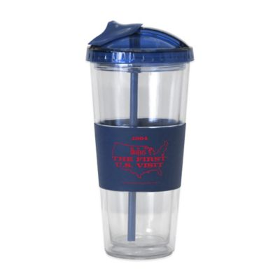 The Beatles U.S. Visit No-Spill Straw Tumbler