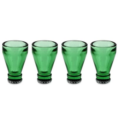 Barbuzzo Bottle Top Shots Glasses (Set of 4)