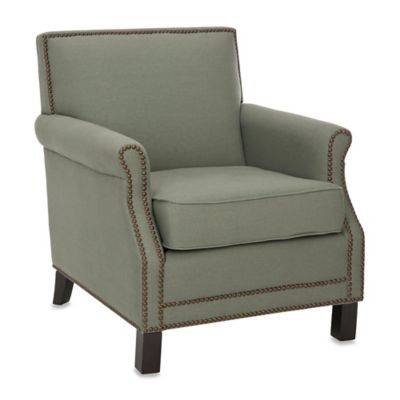 Safavieh Easton Club Chair in Beige Linen