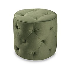 Avenue Six Curves Round Ottoman