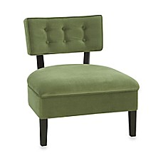Avenue Six Curves Button Chair