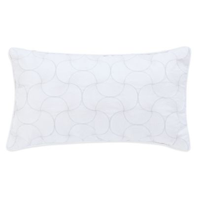 Boheme Oblong Throw Pillow in White