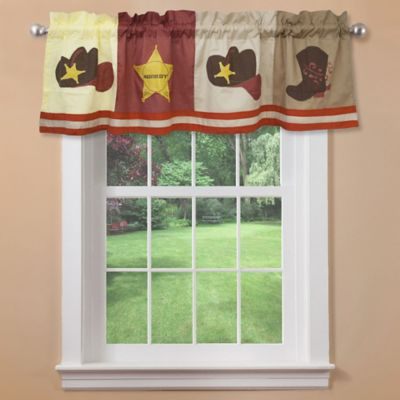Cowboy Window Valance