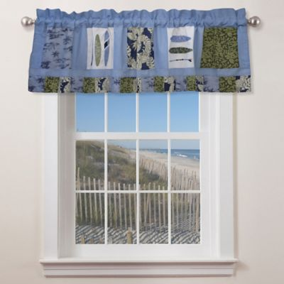 Catch a Wave Window Valance