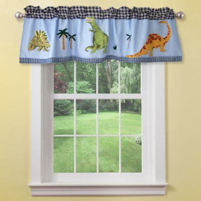 Dino Window Valance