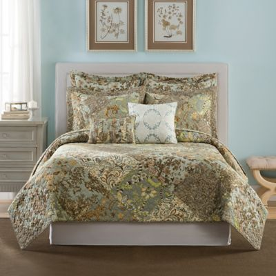 B. Smith Aqua Pillow Sham