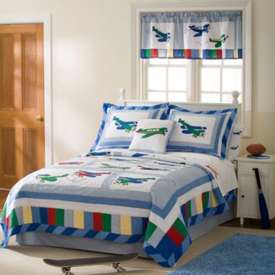 Fly Away Full/Queen Quilt Set