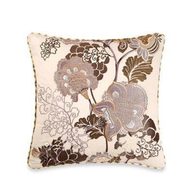 B. Smith Aimee Square Throw Pillow