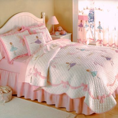 Ballet Lessons Full/Queen Quilt Set