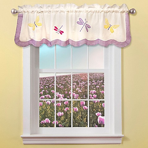Dragonfly Butterfly Window Valance Bed Bath Beyond