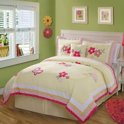 Golden Trail Full/Queen Quilt Set
