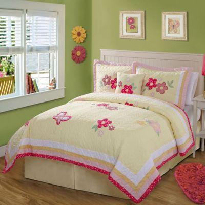 Pale Yellow Bedding