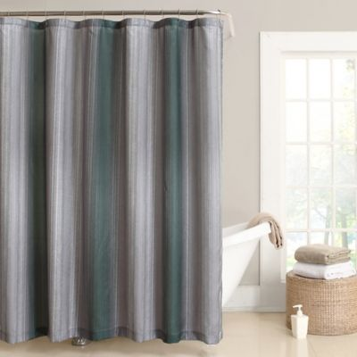 Stafford 54-Inch x 78-Inch Stall Shower Curtain in Pine