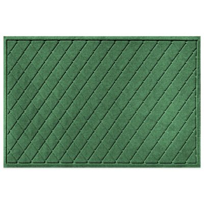 Weather Guard™ 30-Inch x 45-Inch Argyle Door Mat in Light Green