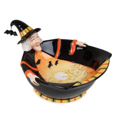 Fitz and Floyd® Boo Witch Bowl