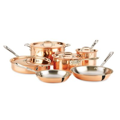 All-Clad c2 Copper Clad™ 10-Piece Cookware Set