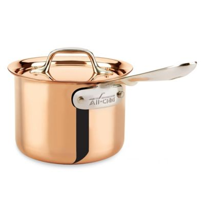 All-Clad c2 Copper Clad™ 2-Quart Covered Saucepan