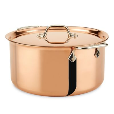 Broiler Safe Covered Stockpot
