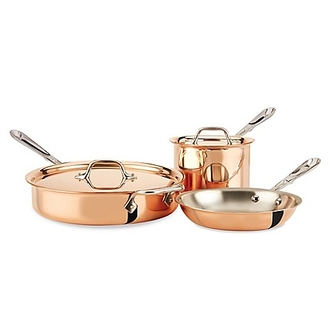 how to clean copper clad cookware