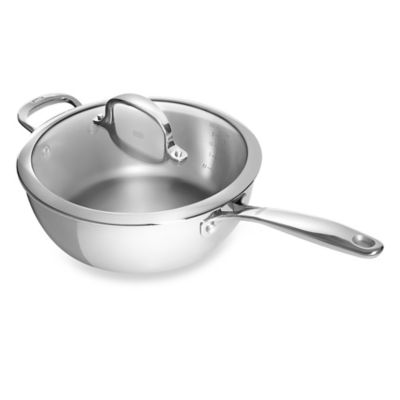 OXO Good Grips® Tri-Ply Pro 3.5-Quart Stainless Steel Covered Saucepan