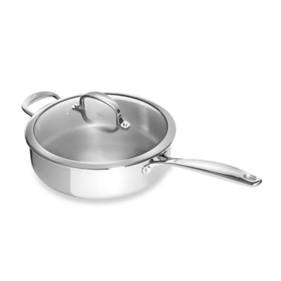 OXO Good Grips® Tri-Ply Pro 4 qt. Stainless Steel Covered Sauté Pan
