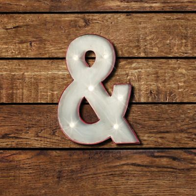 Ampersand LED Marquee Sign