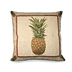 Panama Pineapple Toss Pillow