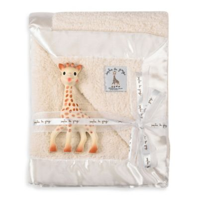 Vulli® Prestige Blanket Gift Set with Sophie la girafe Teether Toy
