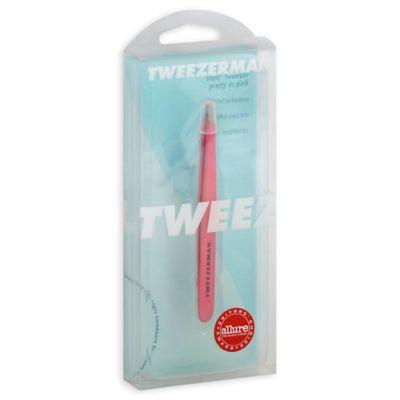 Neon Pink Slant Tweezers