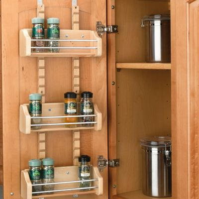 Rev-A-Shelf® Small Adjustable Door Mount Spice Rack