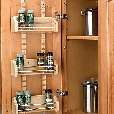 Rev A Shelf 174 Adjustable Door Mount Spice Rack Www