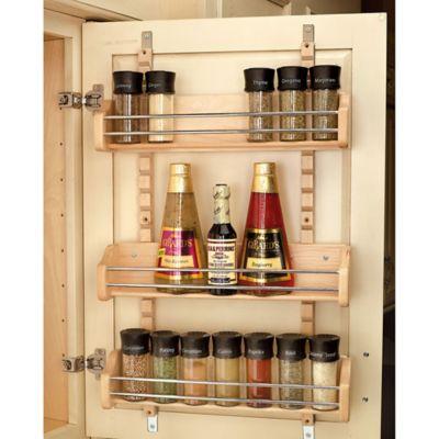 Rev-A-Shelf® Large Adjustable Door Mount Spice Rack