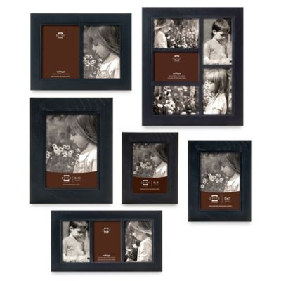Black Picture Frames 3 Openings