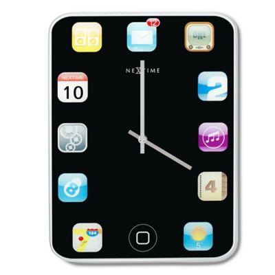 Paolo Renna 15-7/10-Inch Wall Pad Clock