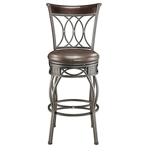 Buy Pulaski Brighton Convertible Metal Barstool In Brown