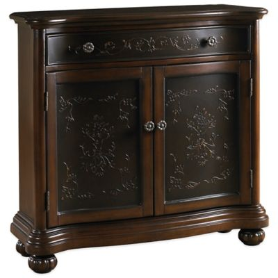 Pulaski Cheverly Hand-Painted Accent Chest in Brown