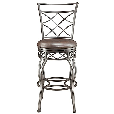 Buy Pulaski Oxford Convertible Metal Swivel Barstool In