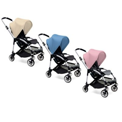 Bugaboo Bee3 Extendable Sun Canopy in Grey Melange